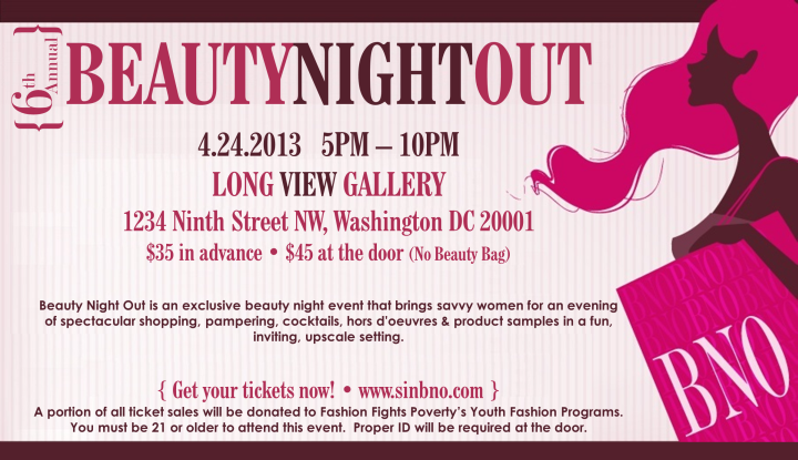 Spring Beauty Night Out DC 2013